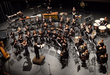 Ohio Northern University Wind Orchestra im Kulturhaus